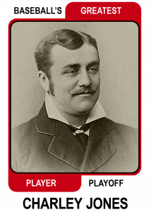 Charley-Jones-Card Baseballs Greatest Player Playoff