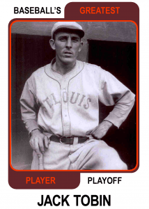 Jack-Tobin-Card Baseballs Greatest Player Playoff