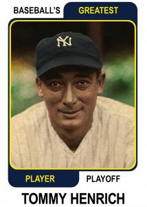 Tony-Lazzeri-Card Baseballs Greatest Player Playoff