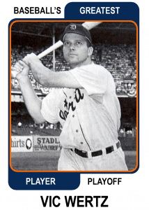 Vic-Wertz-Card Baseballs Greatest Player Playoff