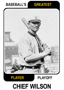 Chief-Wilson-Card Baseballs Greatest Player Playoff Card