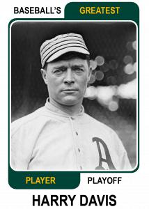 Harry-Davis-Card Baseballs Greatest Player Playoff Card