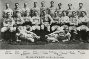 1896 Brooklyn Bridegrooms