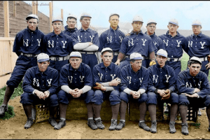 1903 New York Highlanders team photo
