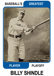 Billy-Shindle-Card Baseballs Greatest Player Playoff