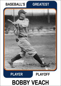 Bobby-Veach-Card Baseballs Greatest Player Playoff Card