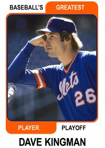 Dave-Kingman-card Baseballs Greatest Player Playoff
