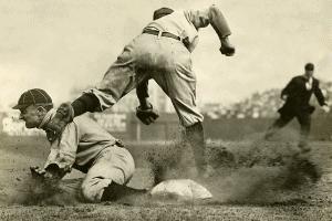 Ty Cobb Slide