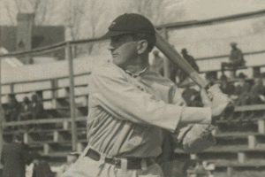 Joe Jackson swinging