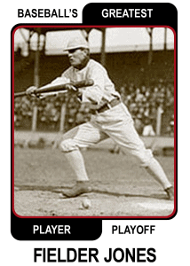 Fielder-Jones-Card Baseballs Greatest Player Playoff Card