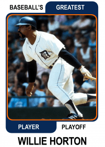 Willie-Horton-Card Baseballs Greatest Player Playoff