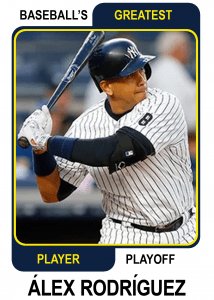 Alex-Rodriguez-card Baseballs Greatest Player Playoff