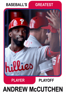 Andrew-McCutchen-Card Baseball's Greatest Player Playoff