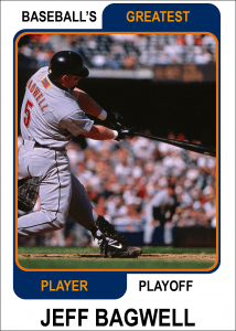 Jeff-Bagwell-Card Baseball's Greatest Player Playoff