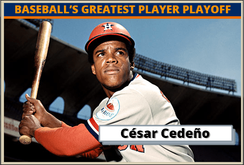 Cesar Cedeno-Featured-Card baseball's greatest player playoff