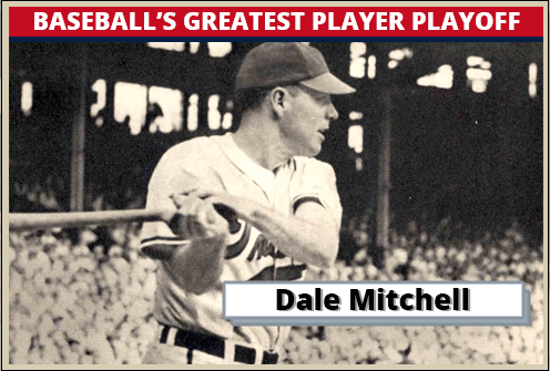 Dale Mitchell Featured Card baseball's greatest player playoff