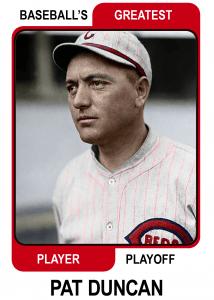 Pat-Duncan-Card Baseballs Greatest Player Playoff