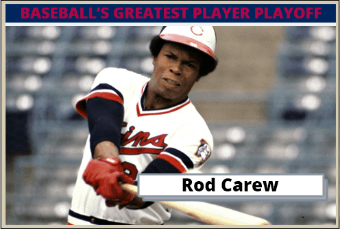 Rod Carew-Featured-Card Baseballs Greatest Player Playoff