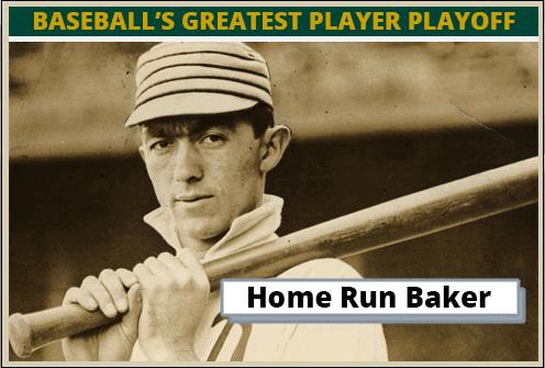 Frank Baker-Featured-Card Baseballs Greatest Player Playoff