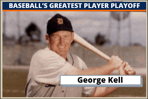 George Kell-Featured-Card Baseballs Greatest Player Playoff
