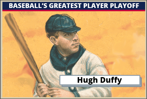 Hugh Duffy-Featured-Card Baseballs Greatest Player Playoff