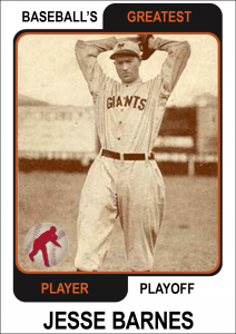 Jesse-Barnes-card Baseballs Greatest Player Playoff