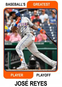 Jose-Reyes-Card Baseballs Greatest Player Playoff