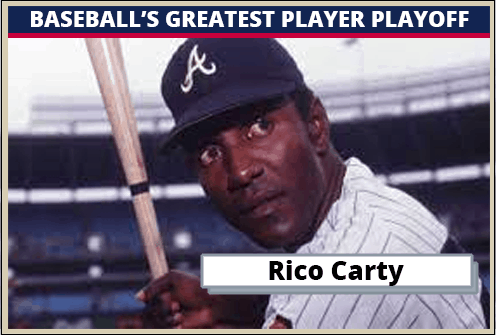 Rico Carty-Featured-Card Baseballs Greatest Player Playoff