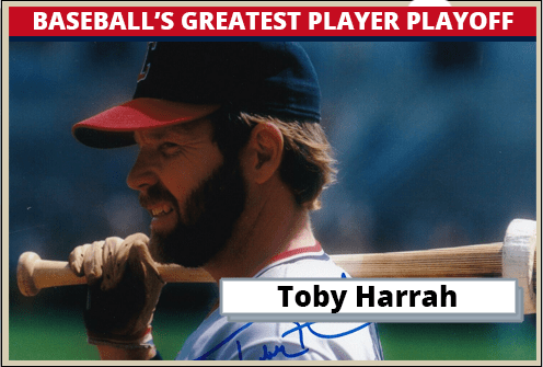 Toby-Harrah-Featured-Card Baseballs Greatest Player Playoff