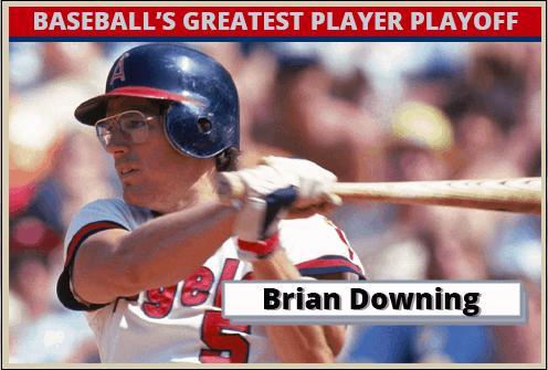 Brian Downing-Featured-Card Baseballs Greatest Player Playoff