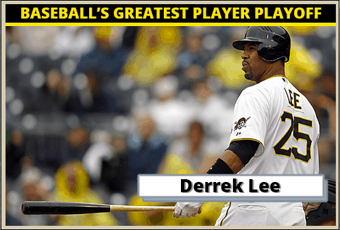 Derrek Lee-Featured-Card Baseballs Greatest Player Playoff