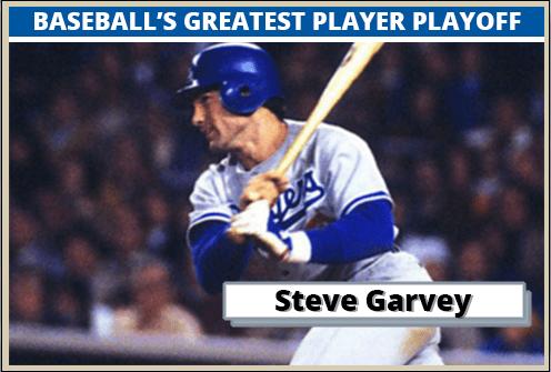 Steve Garvey-Featured-Card Baseballs Greatest Player Playoff