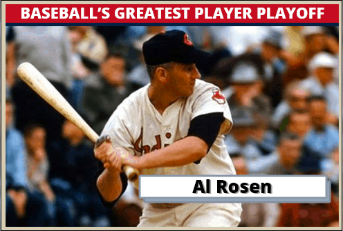 Al-Rosen Featured-Card Baseballs Greatest Player Playoff