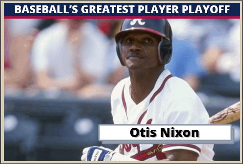 Otis Nixon Featured-Card Baseballs Greatest Player Playoff